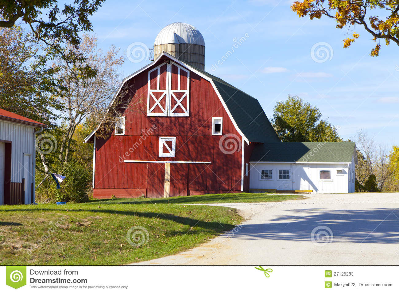 Traditional american barn stock image image of harvest for American barns prices