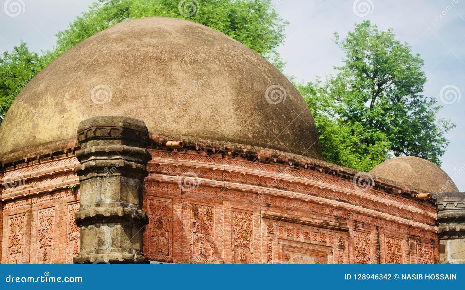 An ancient building of a mosque unique photo