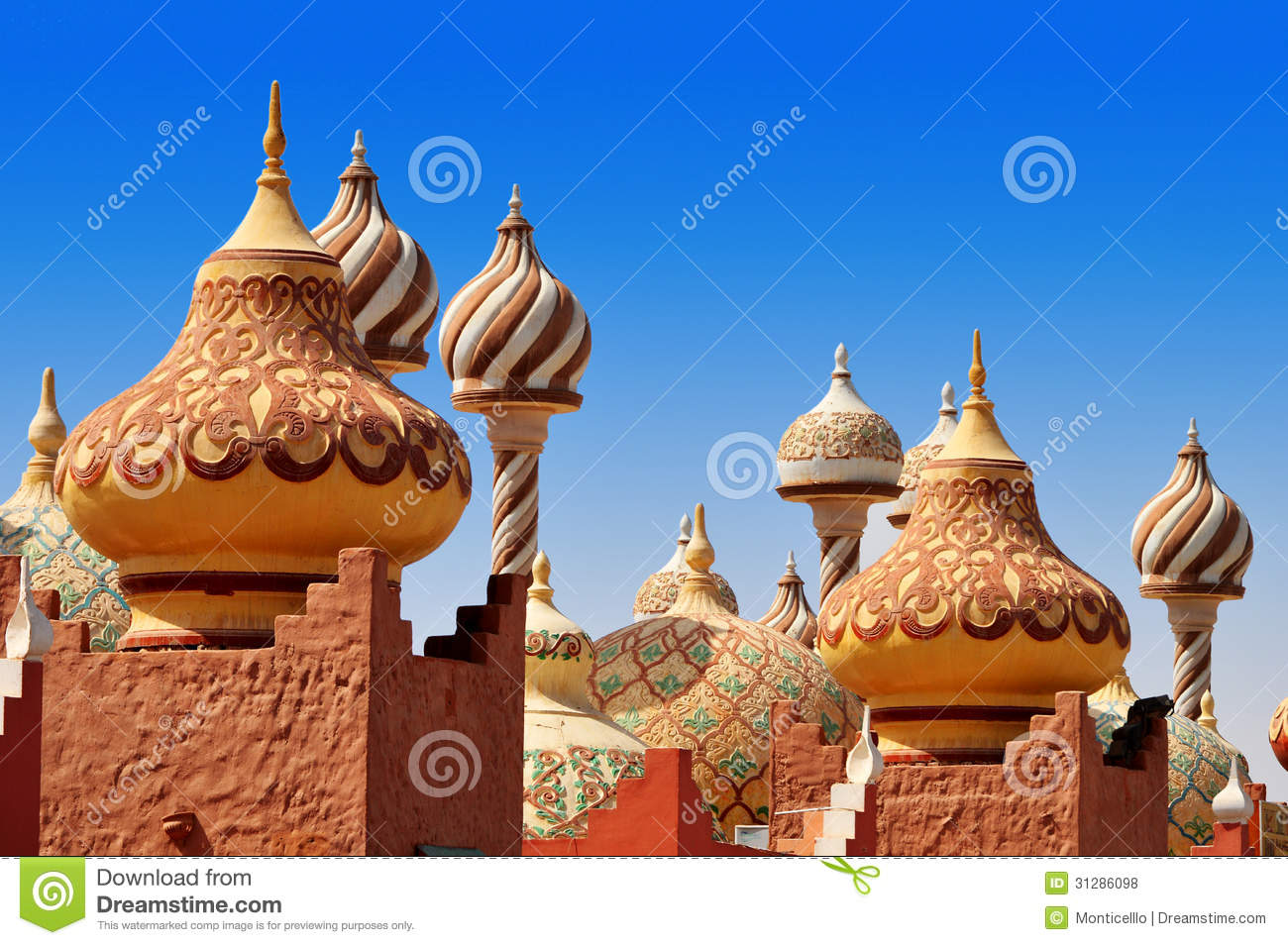 Traditional arabic architecture in egypt stock photo for Architecture arabe
