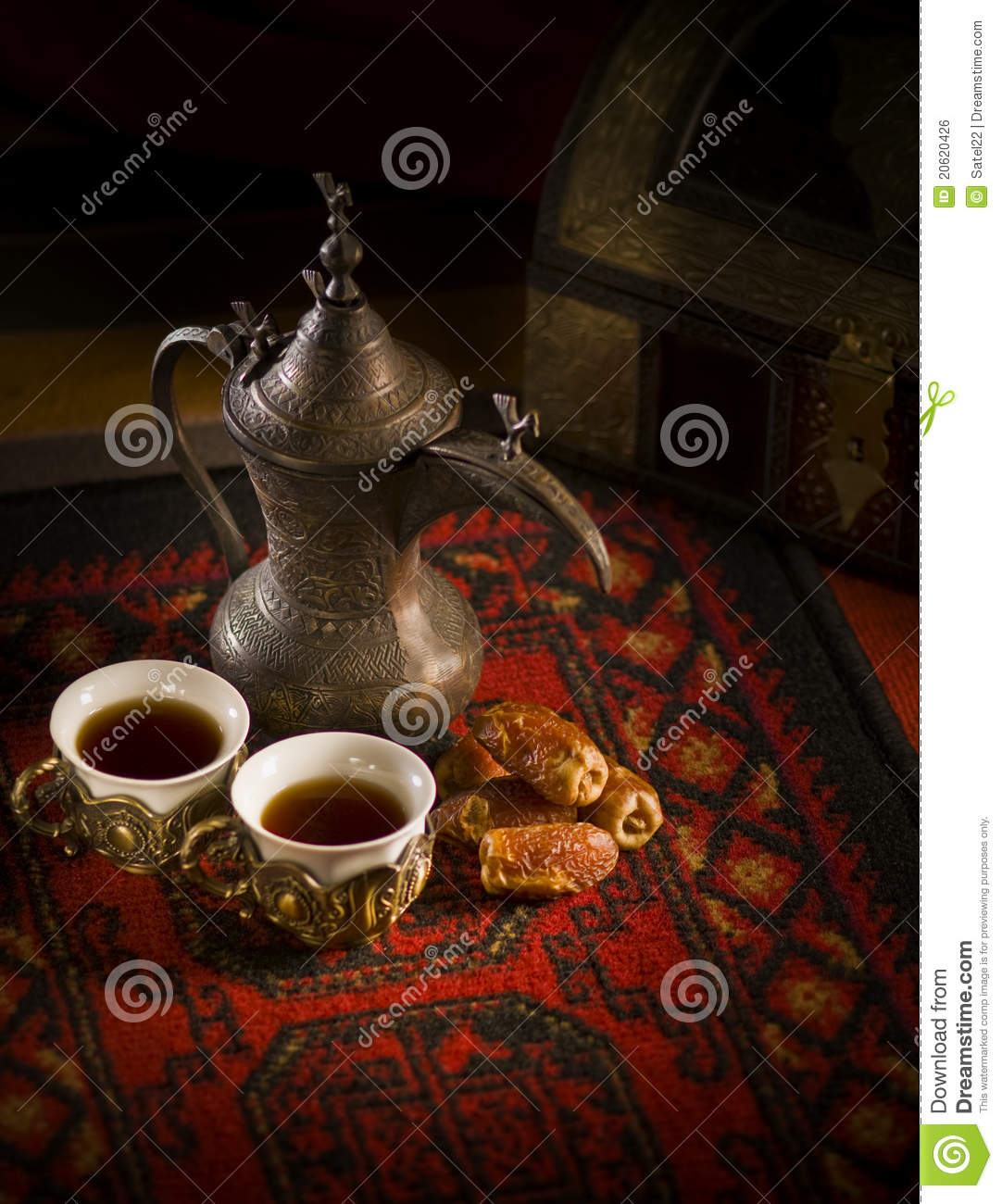 Traditional Arabic Coffee Royalty Free Stock Image Image