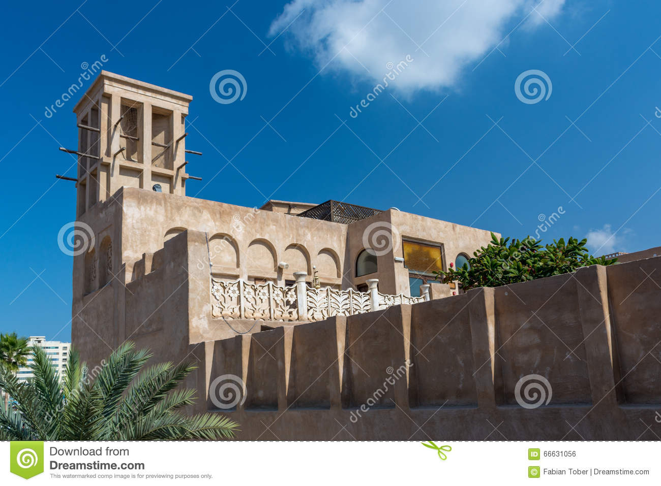 Traditional arabic house stock photo image 66631056 for Architecture maison arabe