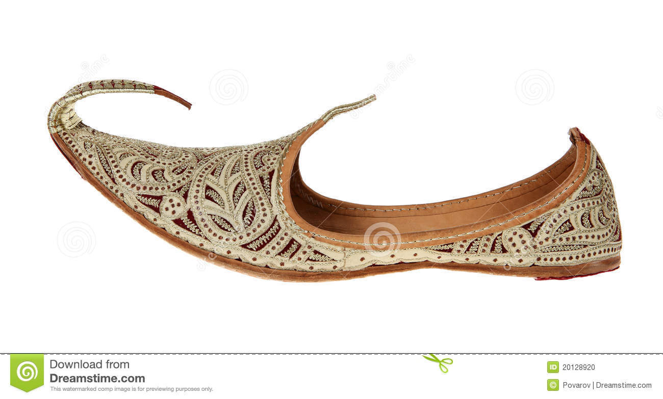 Traditional Arabic Shoes Stock Photo Image 20128920