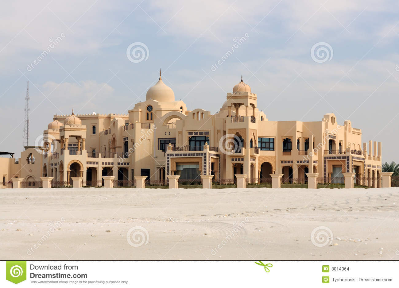 Traditional arabic style villa stock images image 8014364 Style house fashion trading company uae
