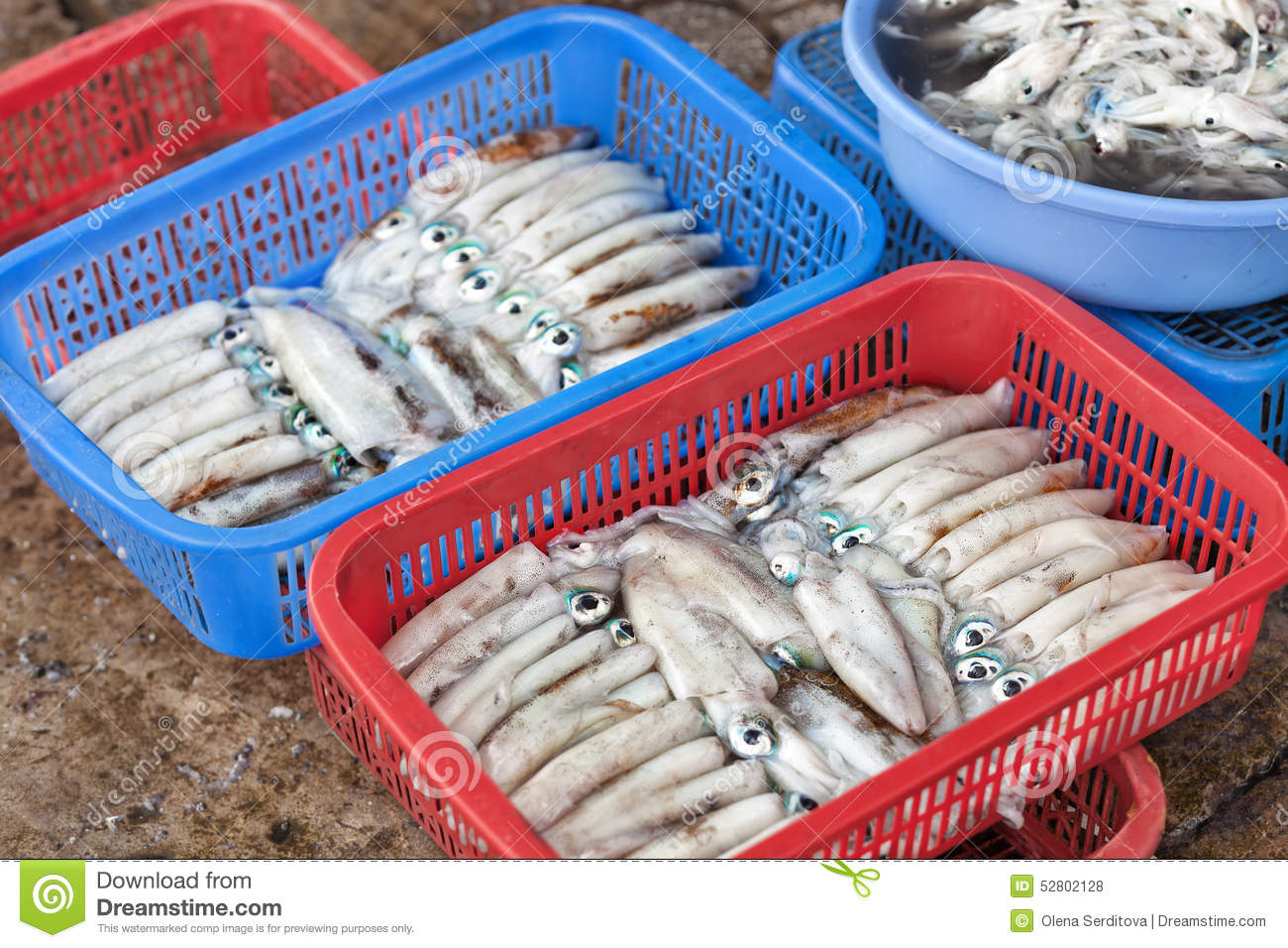 Traditional asian fish market stock photo image 52802128 for Oriental fish market