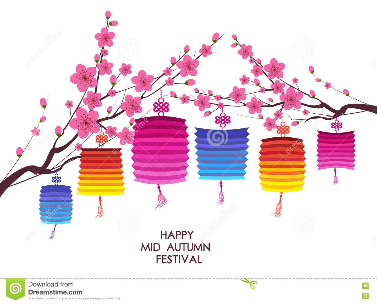 744812198 traditional background for traditions of Chinese Mid Autumn Festival or Lantern  Festival.