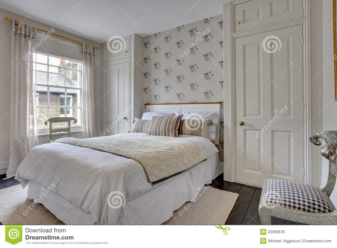 traditional bedroom decorating ideas traditional bedroom decor royalty free stock photos 17554