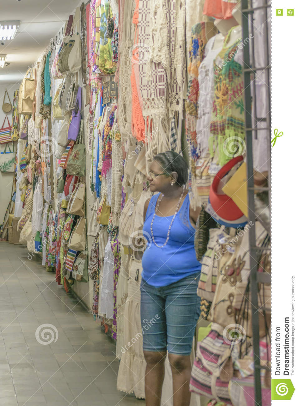 28b410133d8 Traditional Brazilian Clothes On Sell Natal Brazil Editorial Photo ...