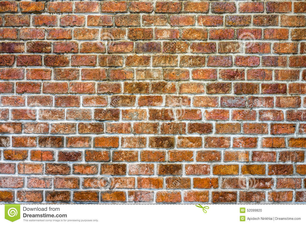 Traditional brick wall stock photo image 52099820 for Exterior background