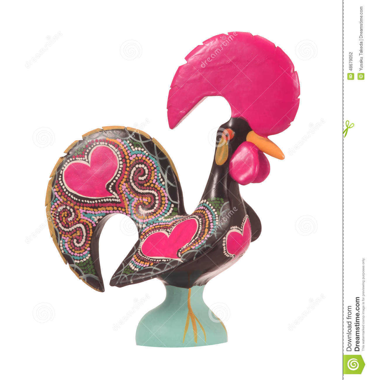 Traditional Ceramic Rooster Stock Photo Image Of Ceramic Lovely