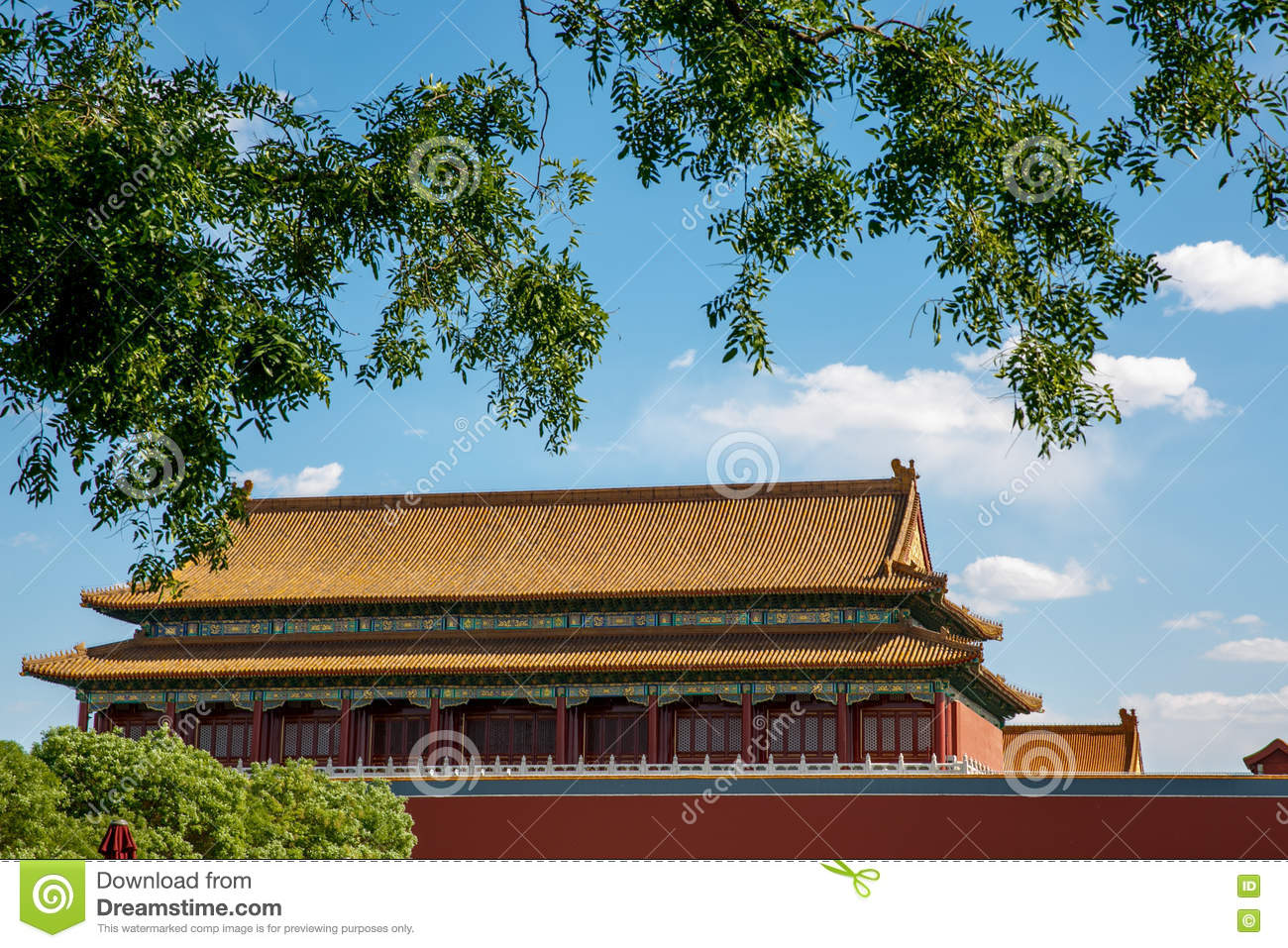traditional chinese architectural roof stock photo image of