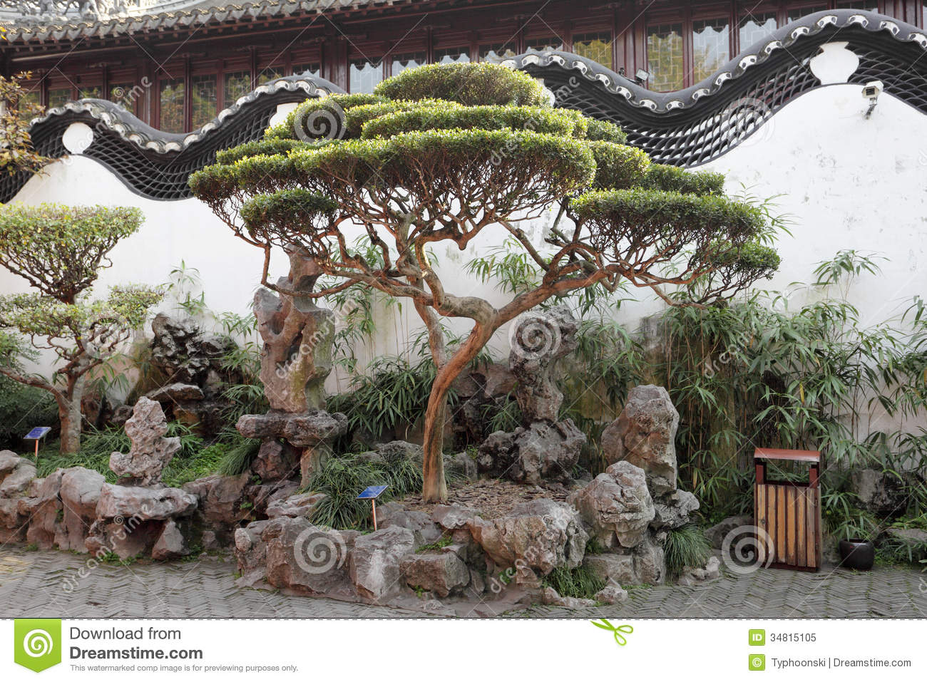 Traditional Chinese Architecture Stock Image - Image: 34815105