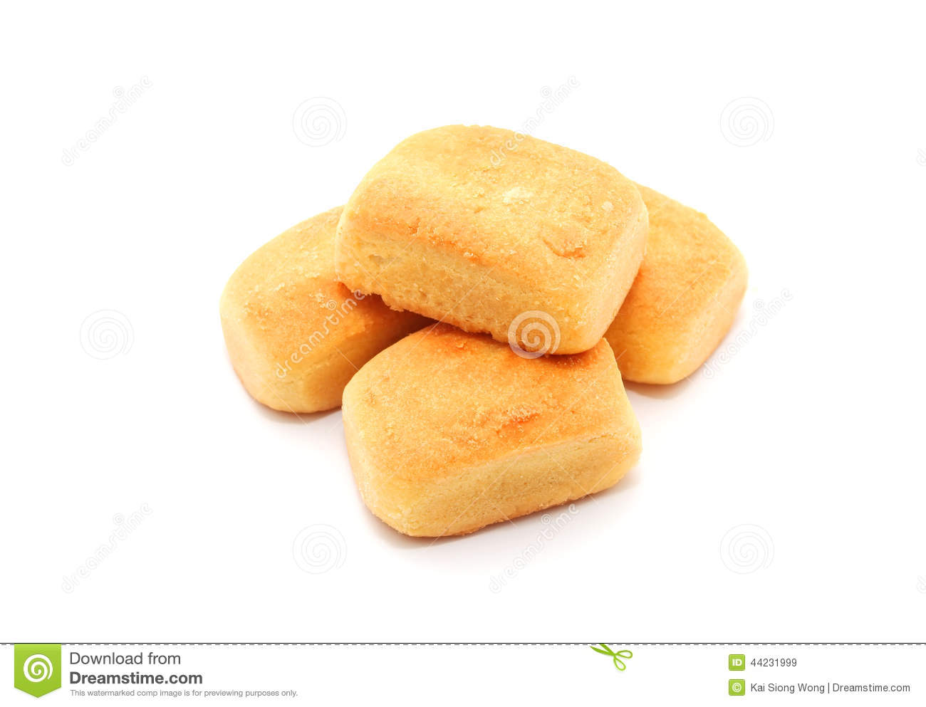 Traditional Chinese cookies pineapple cake