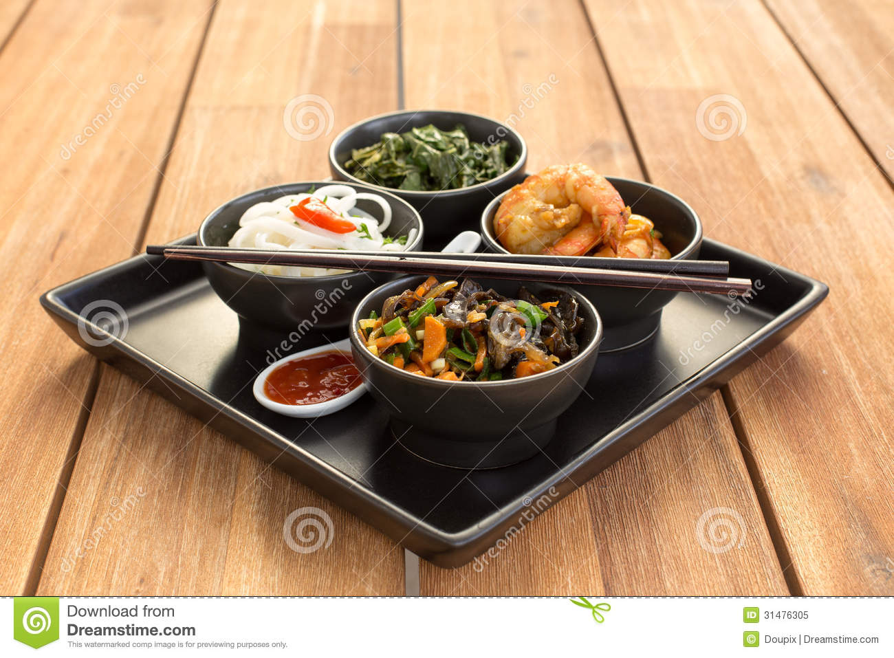 Chinese Food Seaweed Cabbage