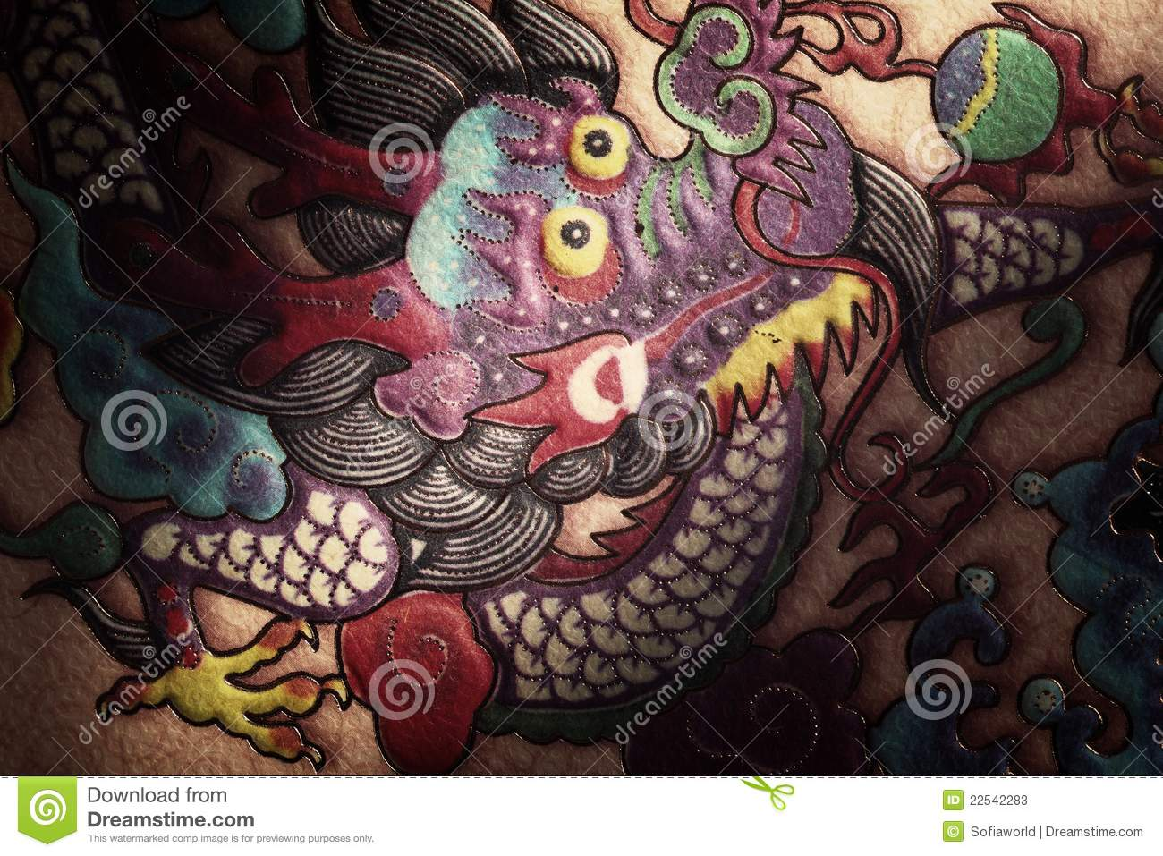 Traditional Chinese Dragon Painting Stock Photos - Image ...