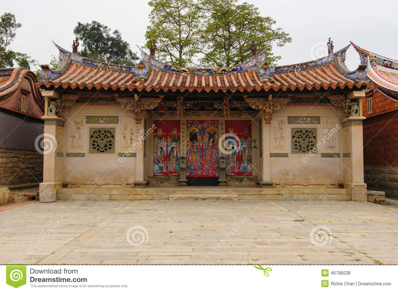 Traditional chinese style house in taiwan stock photo for Traditional house style