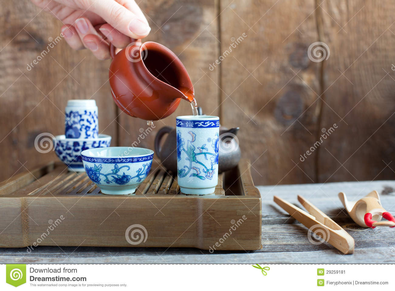 Traditional chinese tea ceremony accessories stock for Oriental accessories