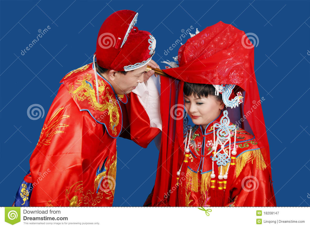 b8e78bc8a3849 Traditional Chinese Wedding Stock Image - Image of characteristic ...