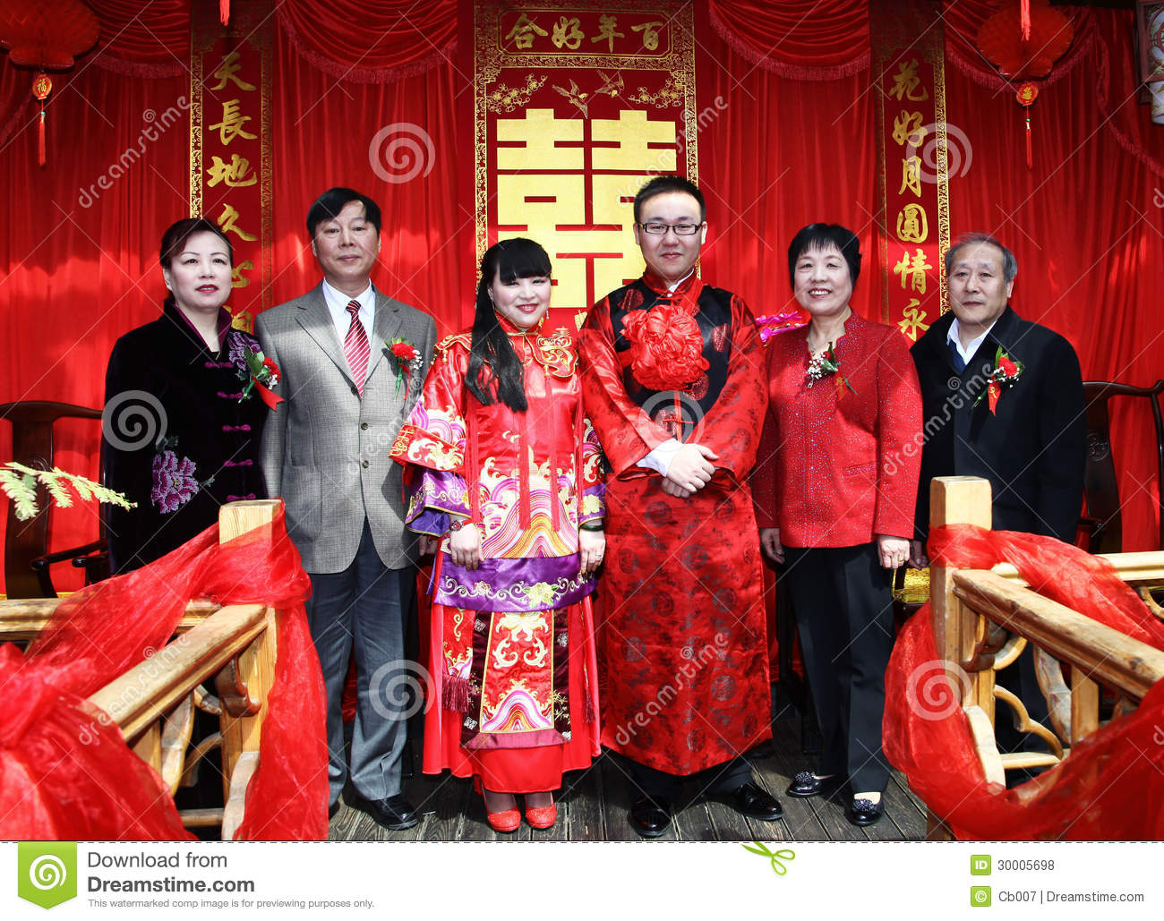 Traditional chinese wedding in beijing