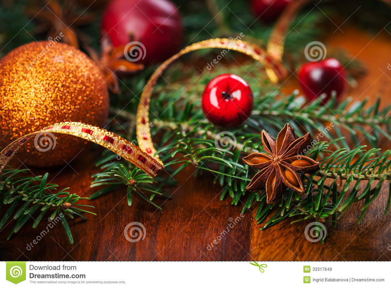 Why is holly a traditional christmas decoration - Royalty Free Stock Photo Download Traditional Christmas Decoration