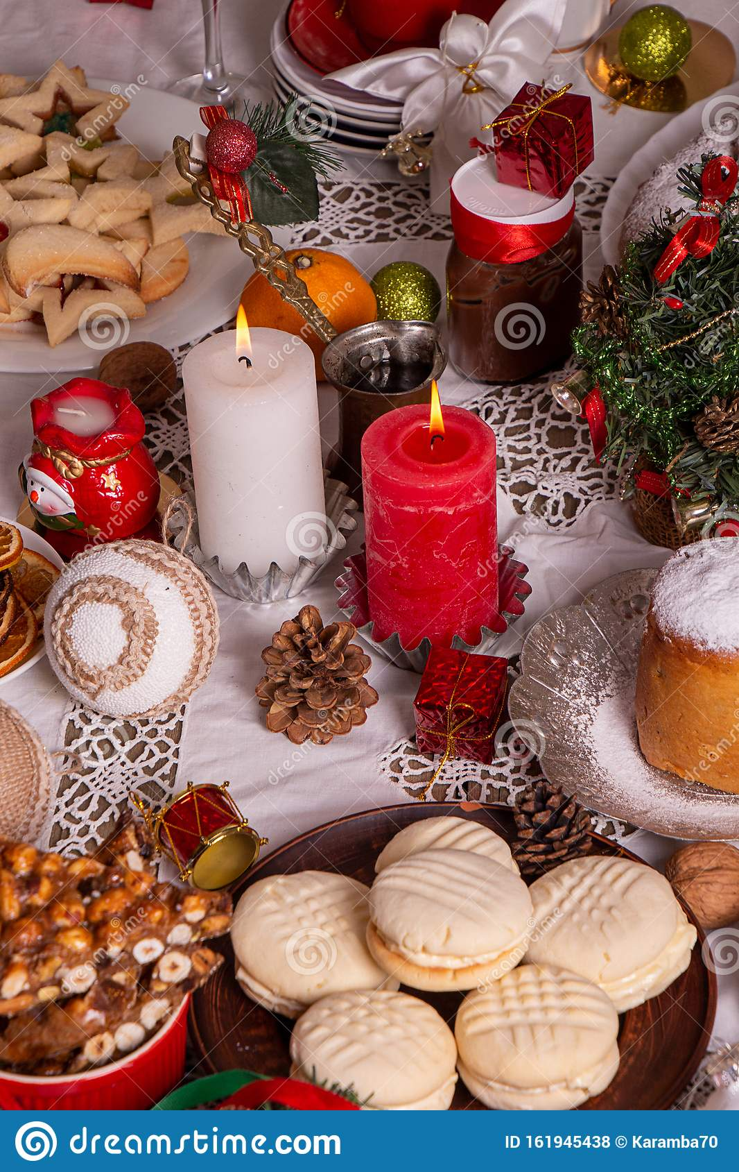 Traditional Christmas Sweets Cookies Biscuits Pastry ...
