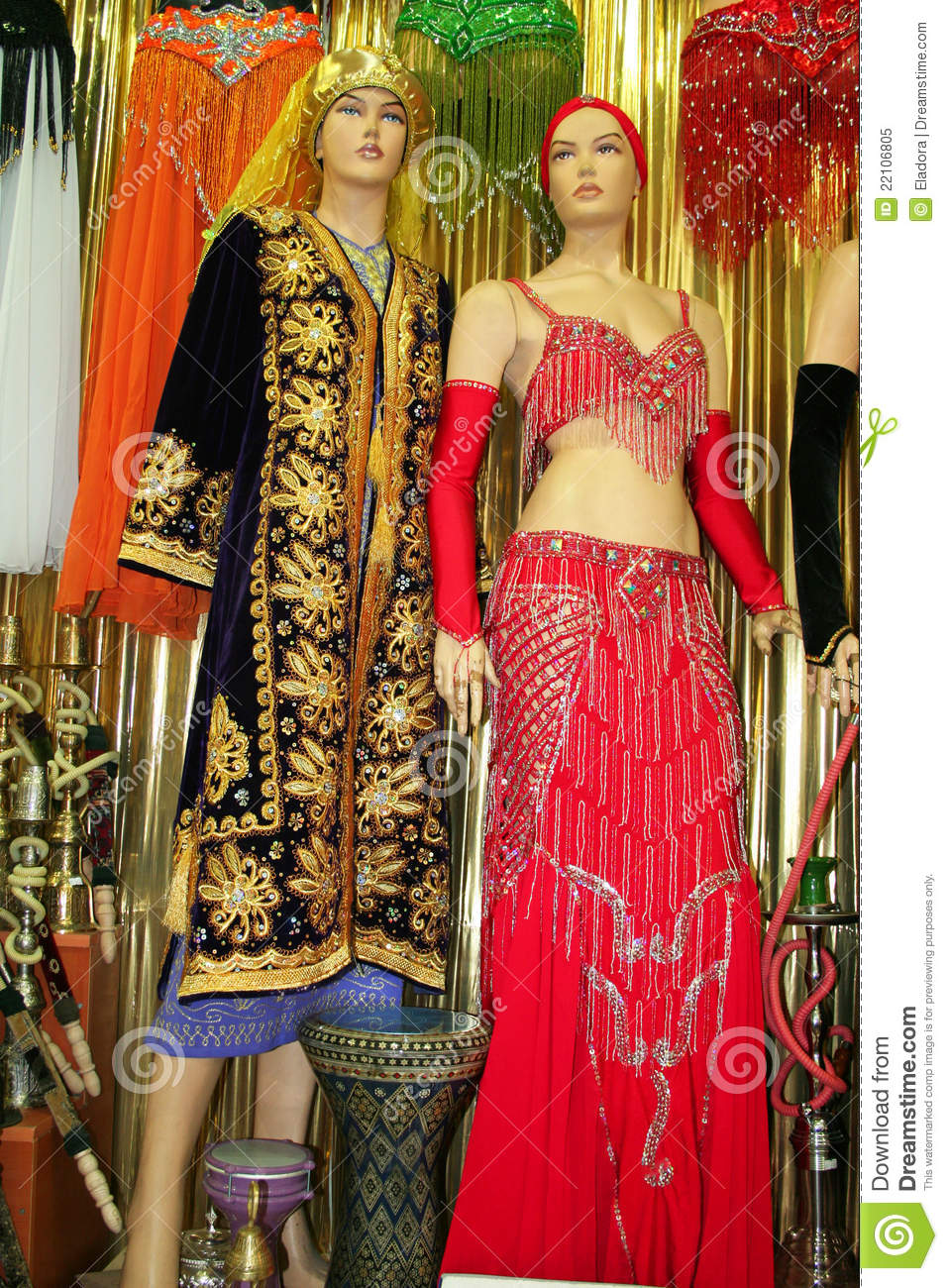 traditional clothes royalty free stock photo