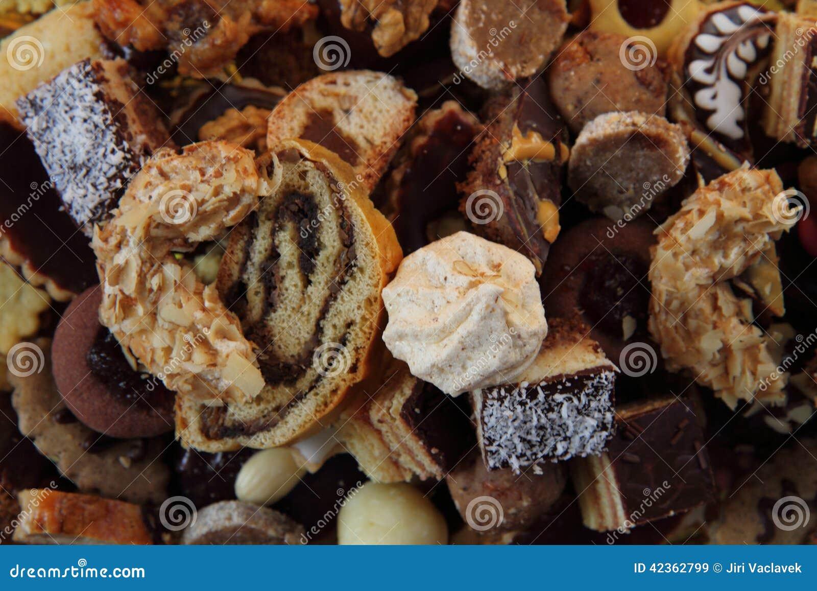 Traditional Czech Christmas Cookies Stock Image Image Of Aromatic
