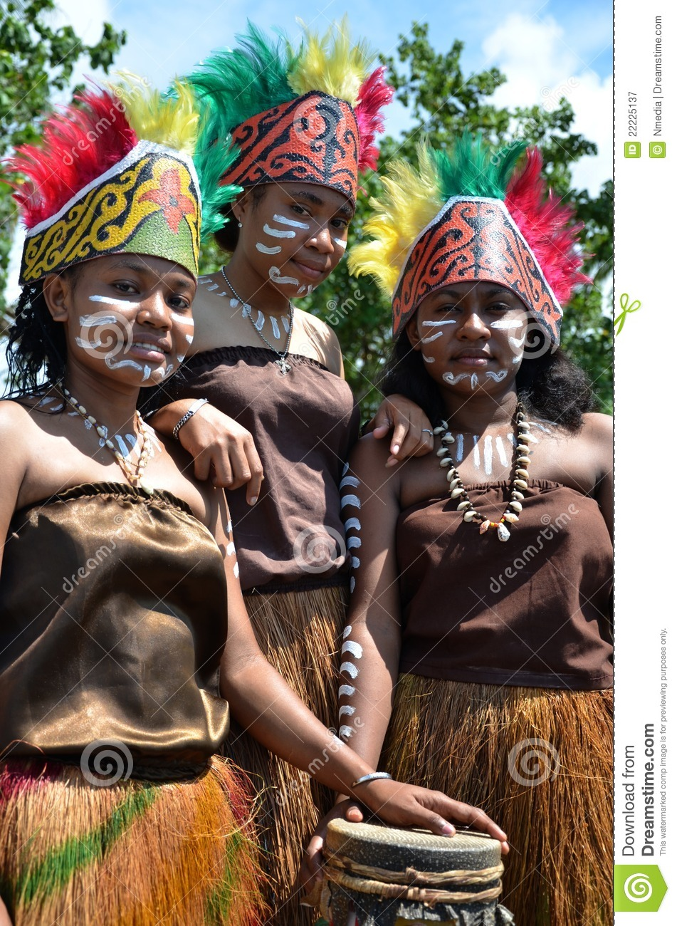 Traditional Dancer of Papua