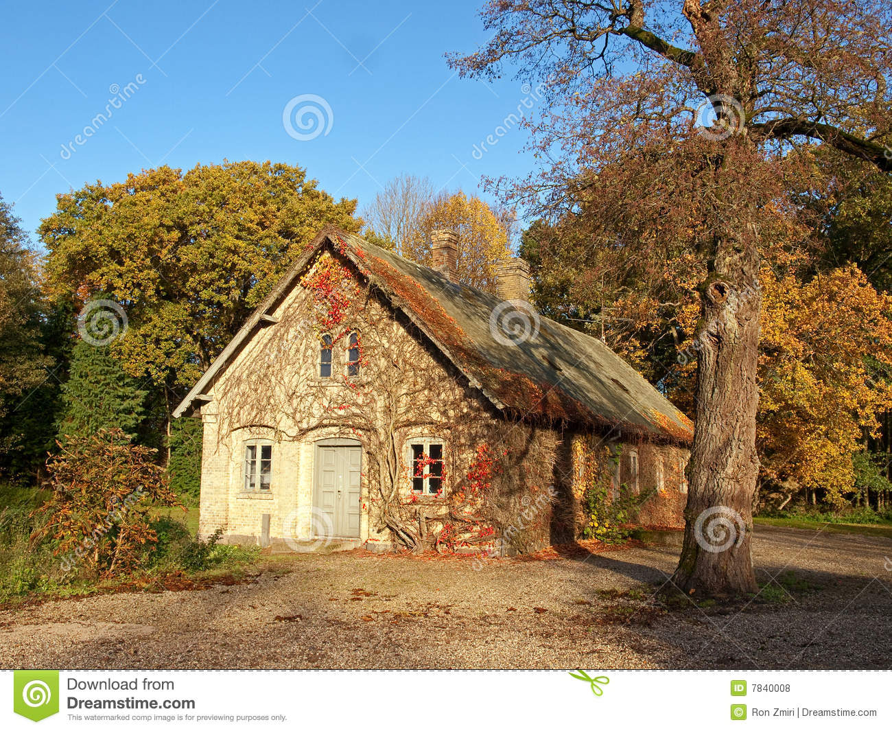 Traditional danish country home denmark stock photo for Traditional country homes