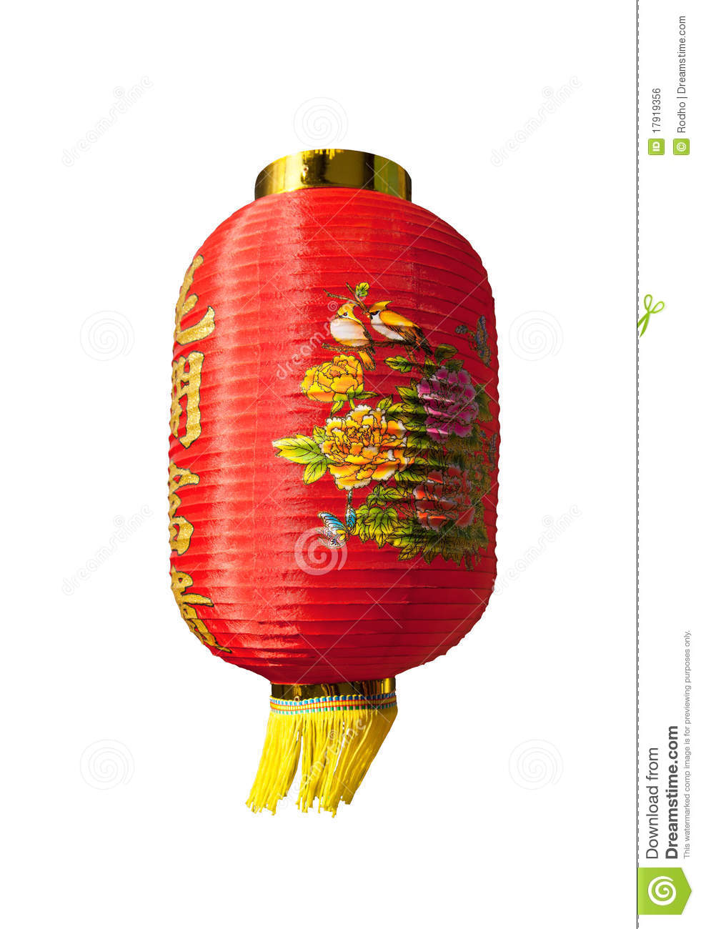 Traditional And Decorative Chinese Lantern Royalty Free Stock Image ...