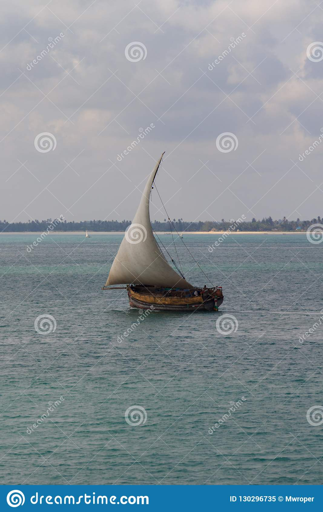 Traditional Dhow Sailing