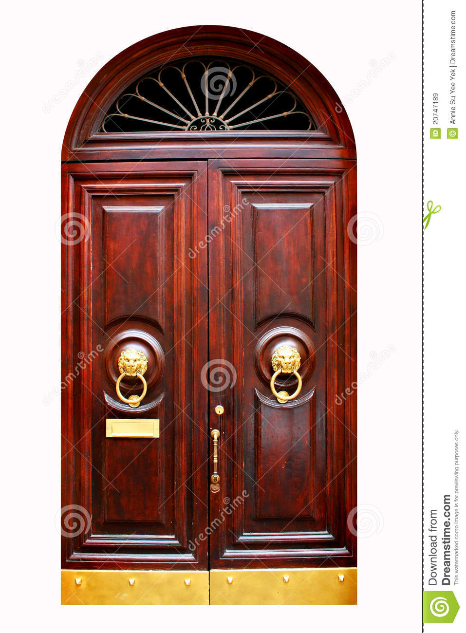 Traditional Door Royalty Free Stock Images