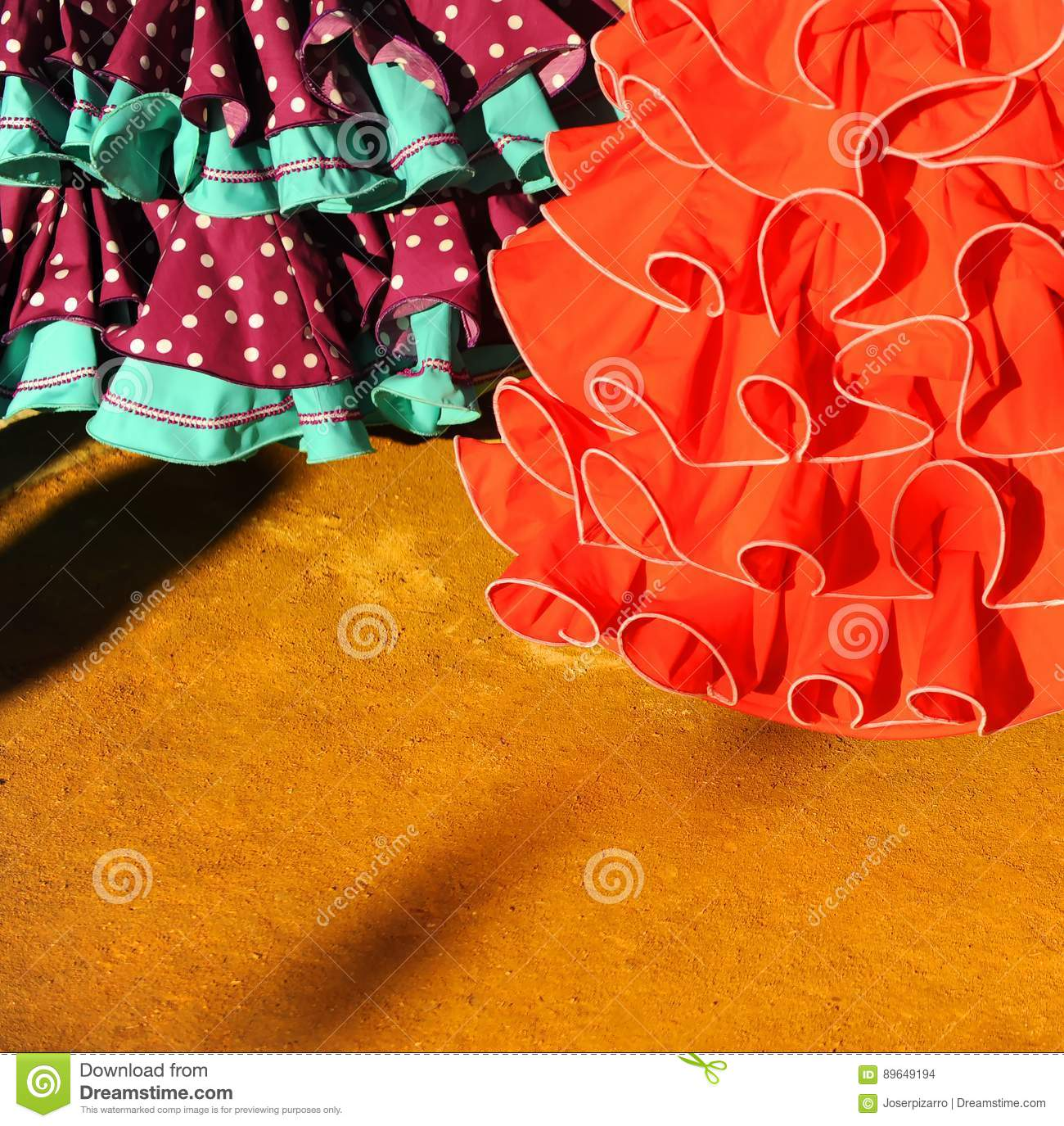 b7eef5b2a121 Andalusian woman wearing flamenco dress during the Feria of Sevilla,  Andalusia, Spain