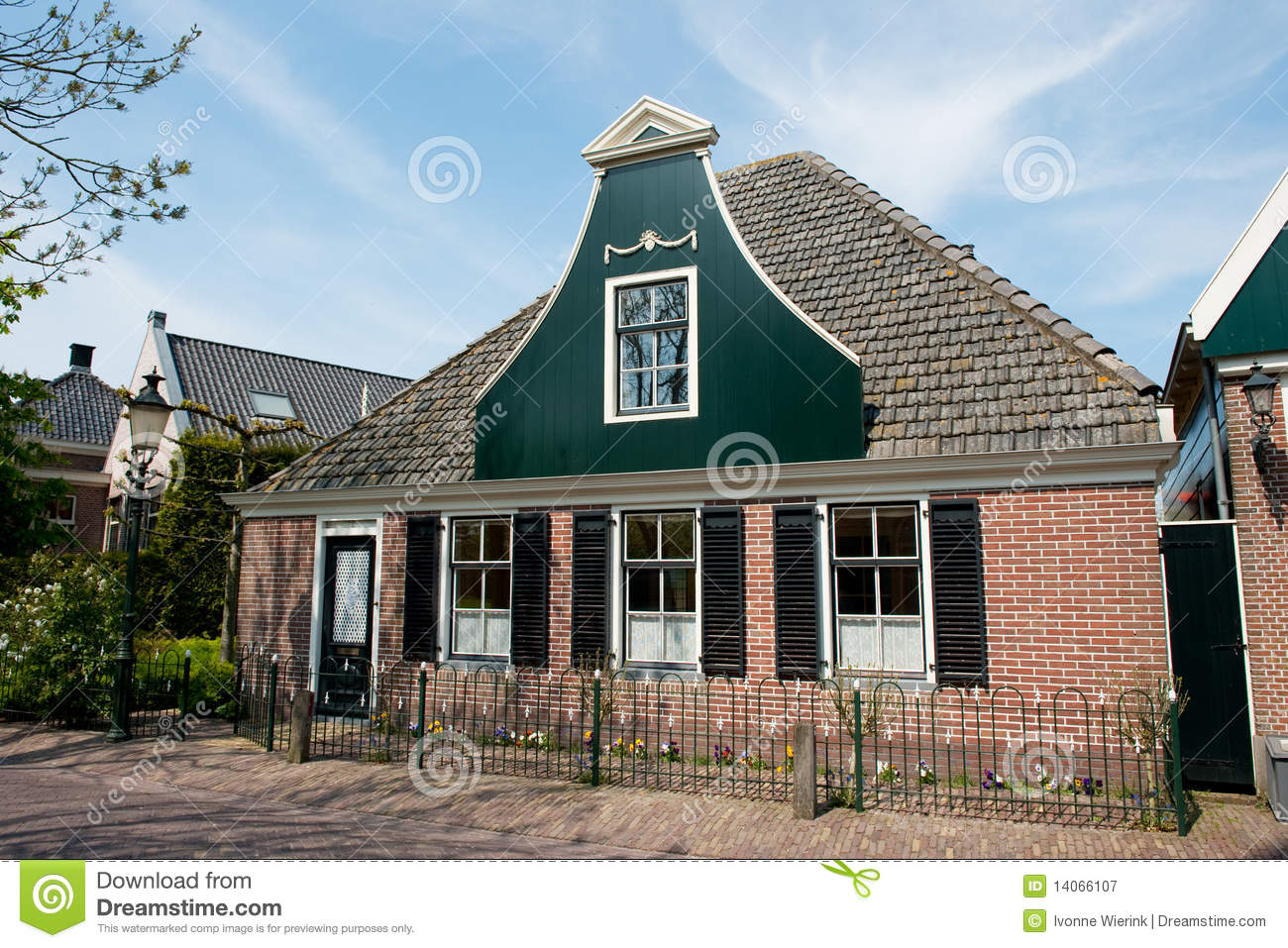 Traditional dutch house royalty free stock photography for Classic dutch house of 60m2