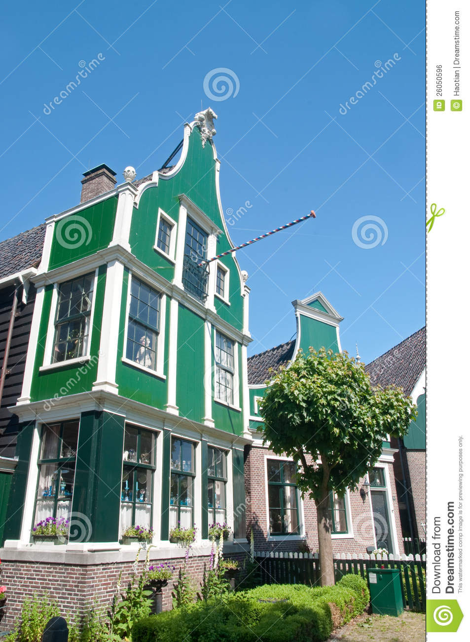 Traditional dutch house royalty free stock image image for Classic dutch house of 60m2