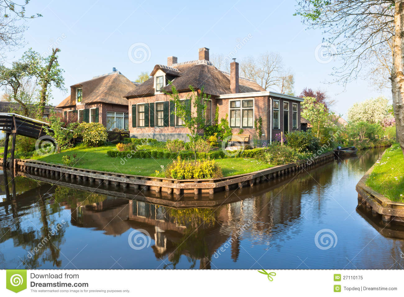 Traditional dutch house royalty free stock photo image for Dutch house