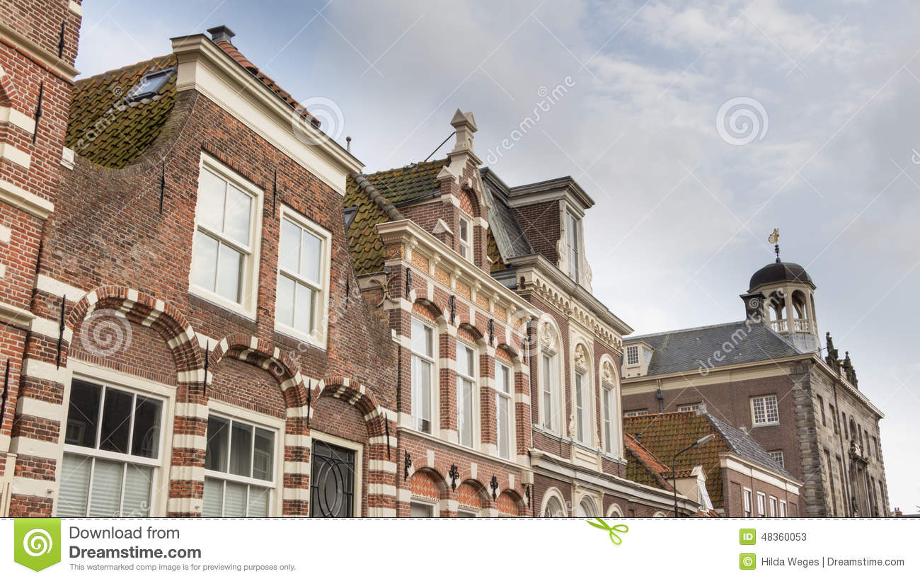 Traditional dutch house stock photo image 48360053 for Classic dutch house of 60m2