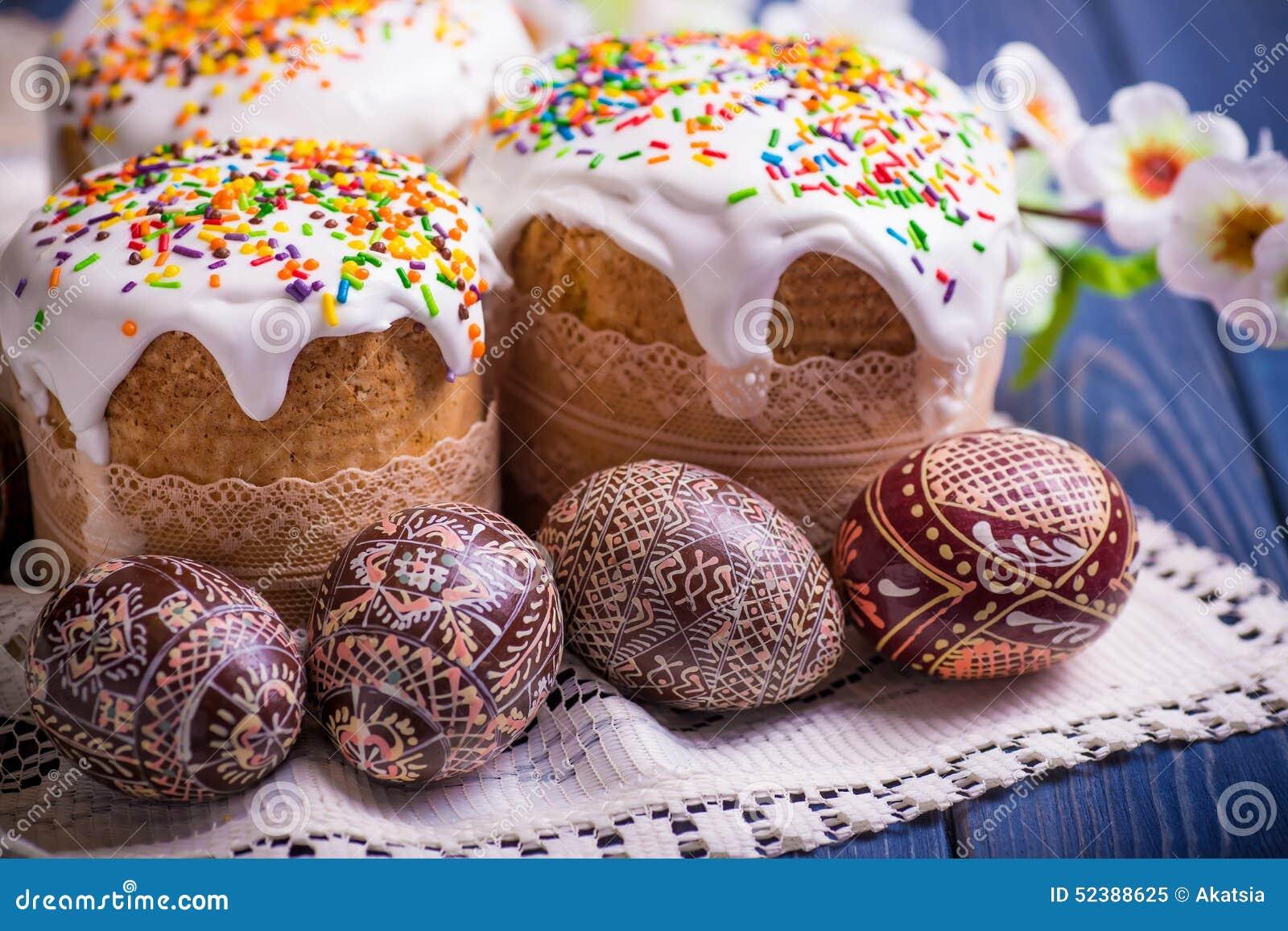 Ukrainian Easter Cake