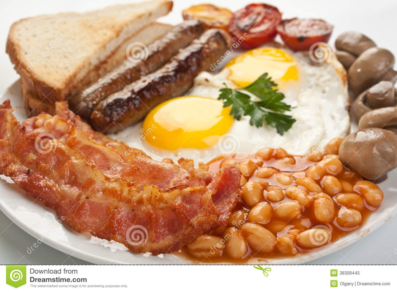 Traditional English Breakfast Royalty Free Stock Photo ...
