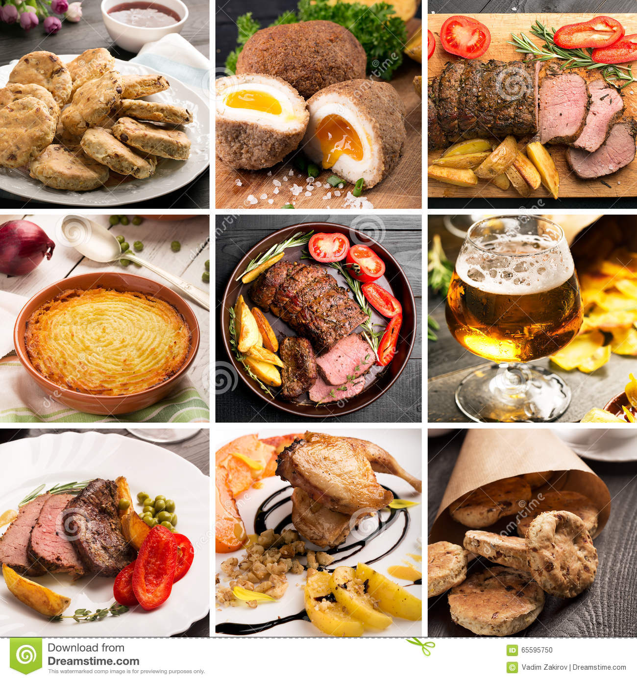 traditional english food stock photo image of dinner