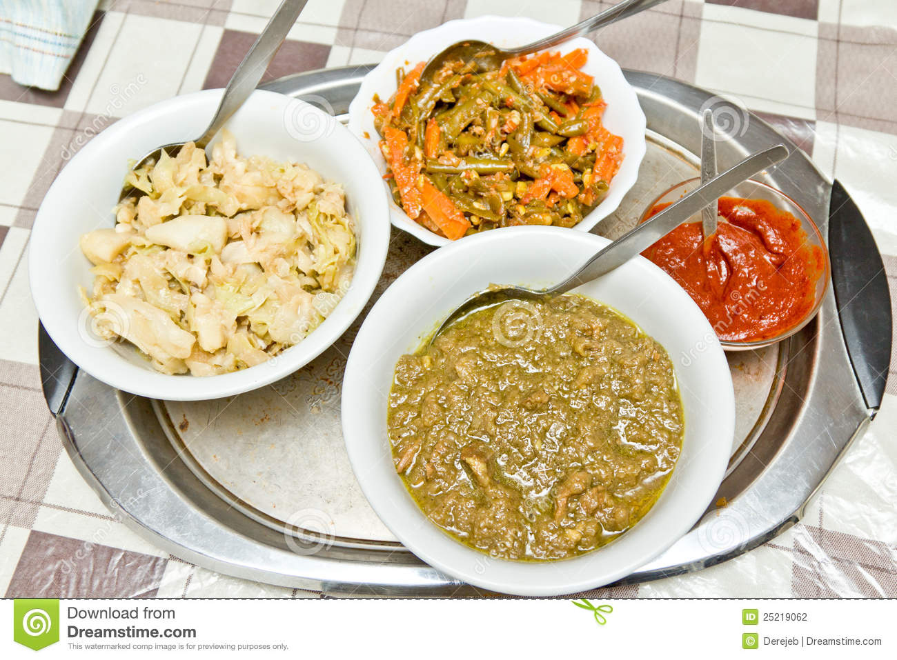 Traditional ethiopian food stock photo image of prepared for Authentic ethiopian cuisine