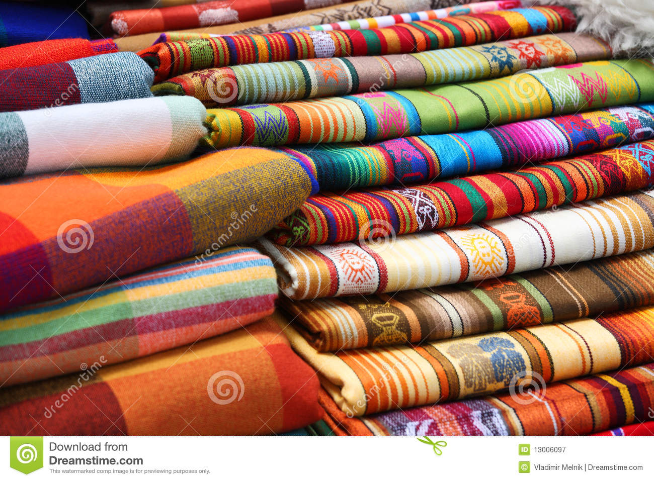 Traditional fabrics royalty free stock photography image 13006097 - Tissus orientaux pas cher ...