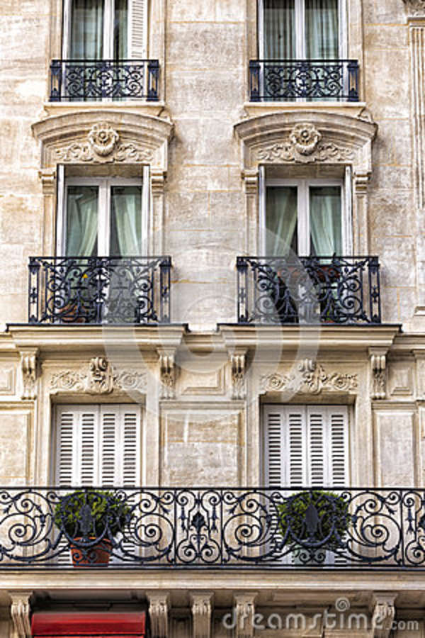 Traditional Facade in Paris
