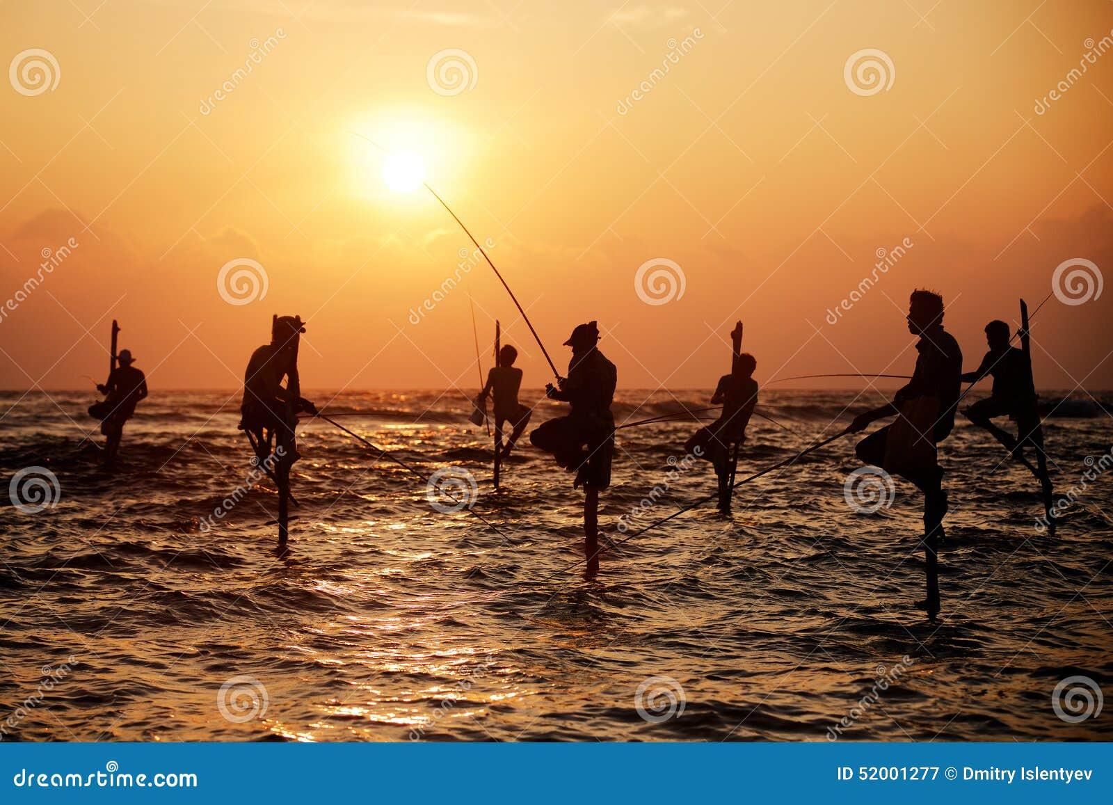 Traditional Fishermen Editorial Photo