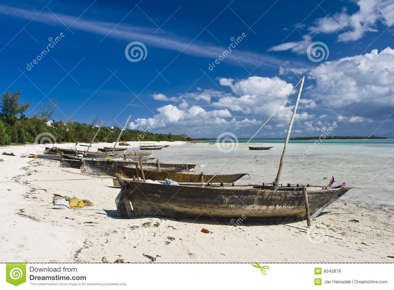 Traditional fishing boats on beach royalty free stock for Fishing row boats