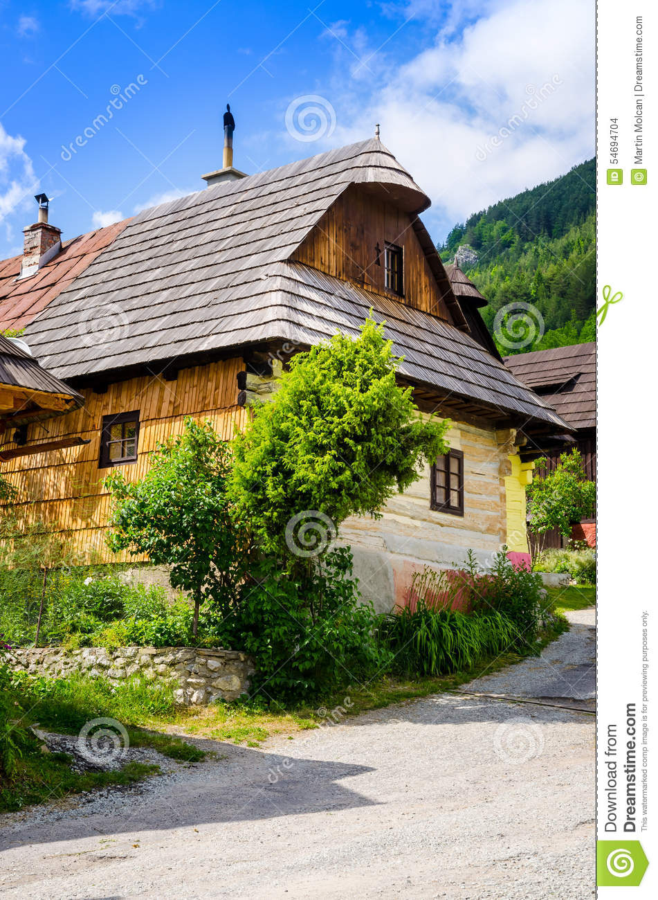 Old traditional village royalty free stock photo for Old traditional houses