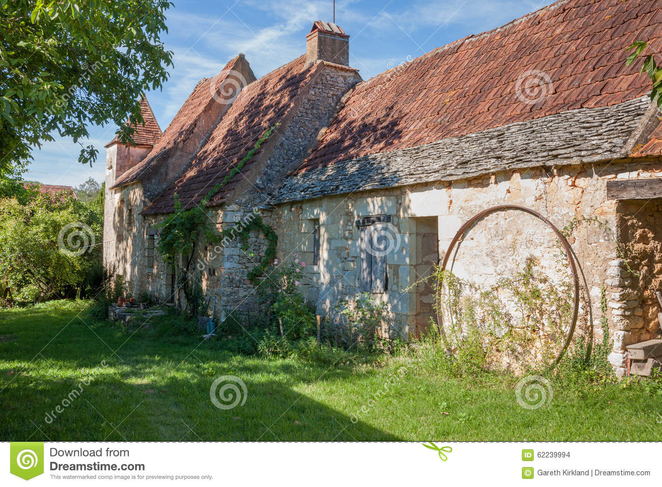 Traditional French Stone Farmhouse
