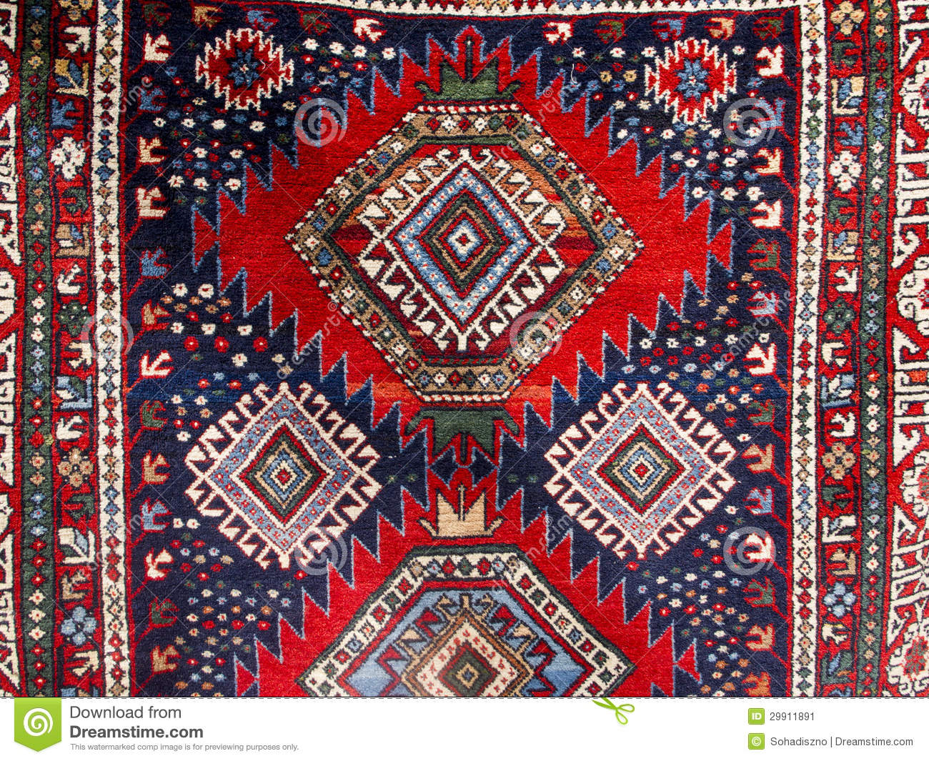 Georgian Carpet Stock Image Image 29911891