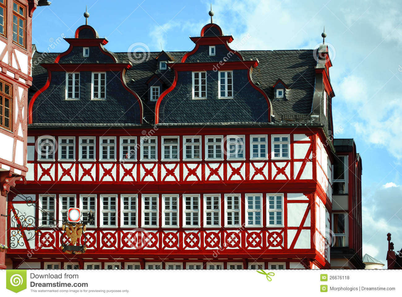 traditional german architecture royalty free stock photos - image