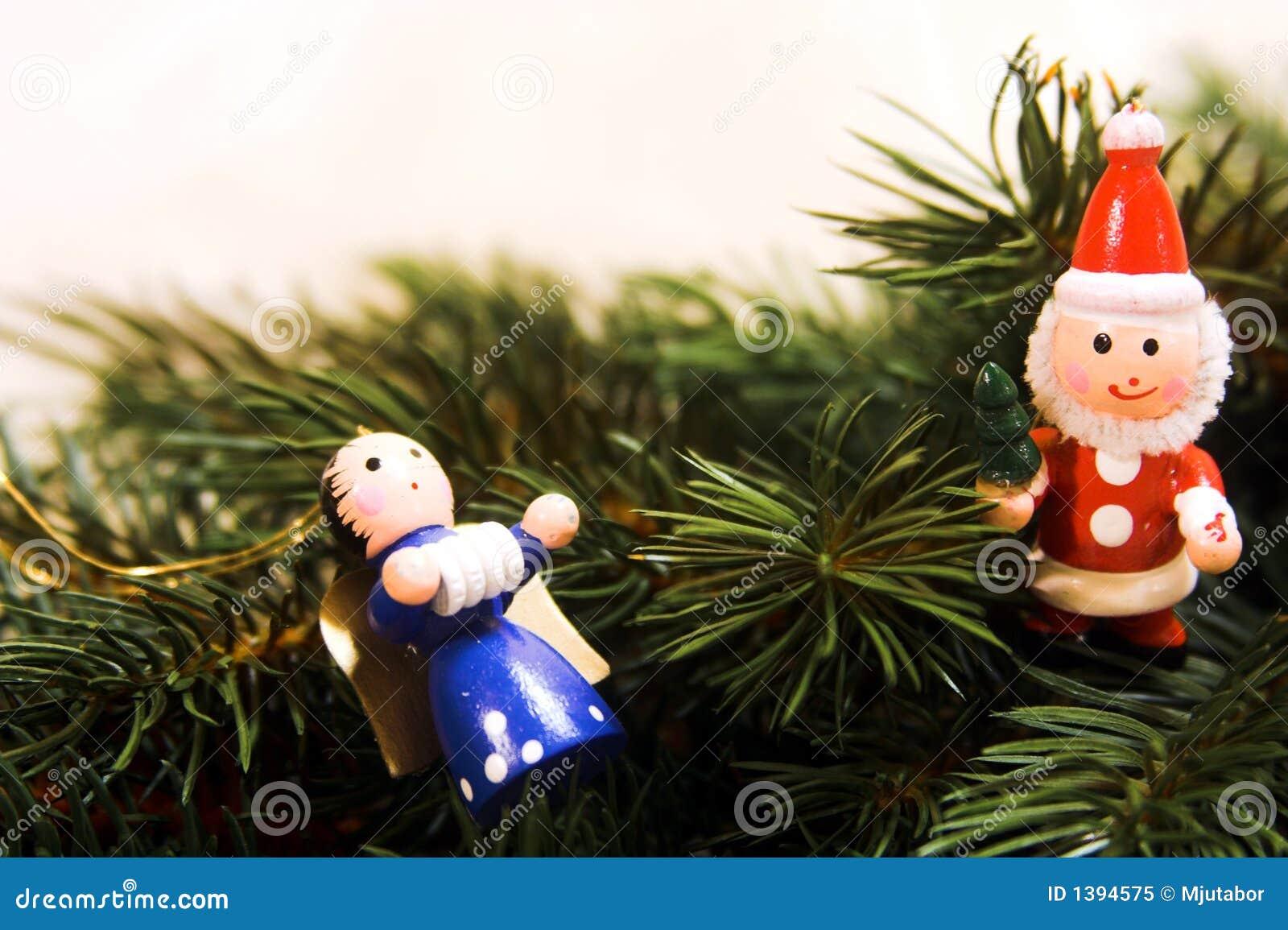 Traditional german christmas ornaments royalty free stock - Traditional german christmas tree decorations ...