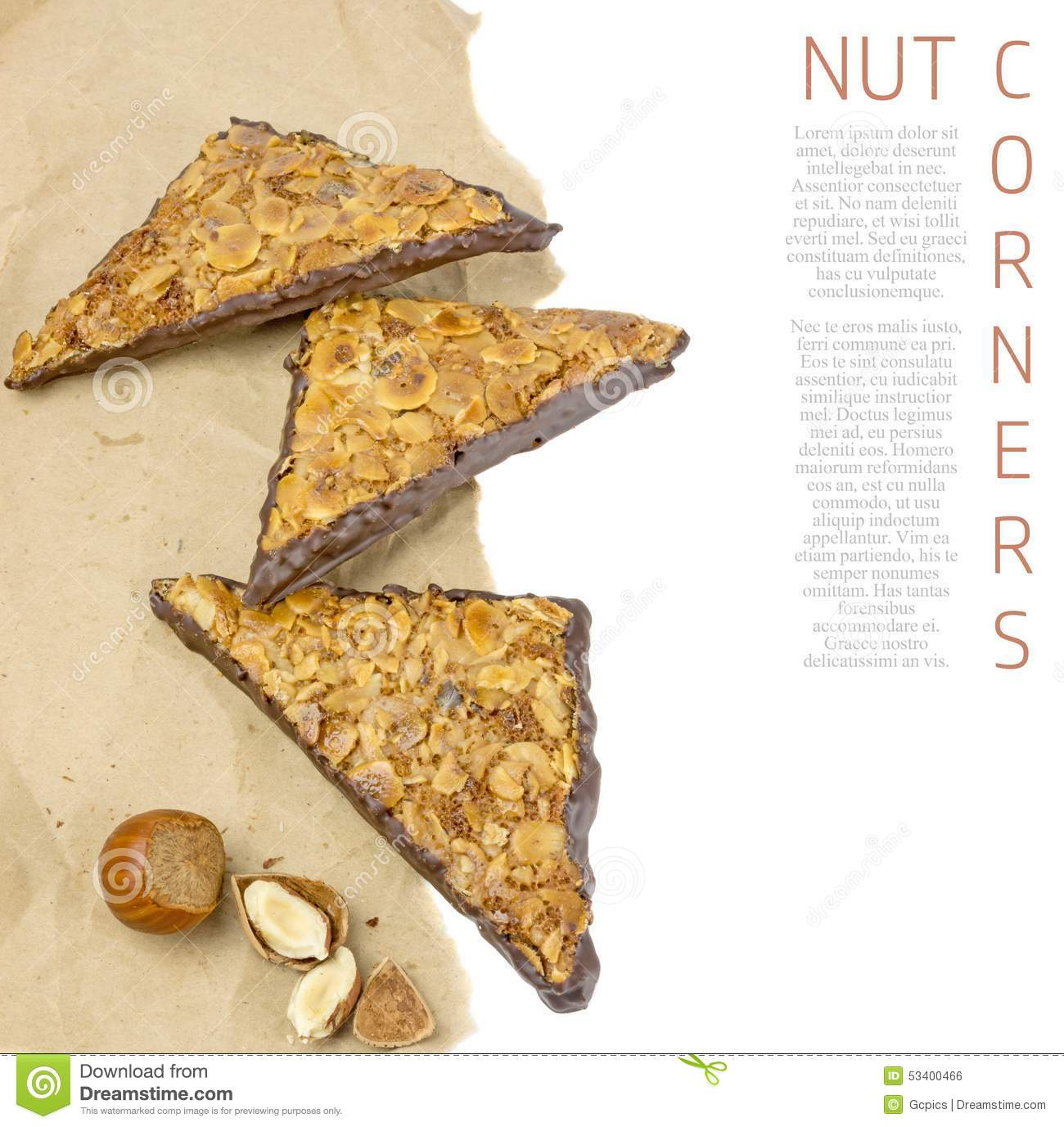 Chocolate Triangles For Cakes